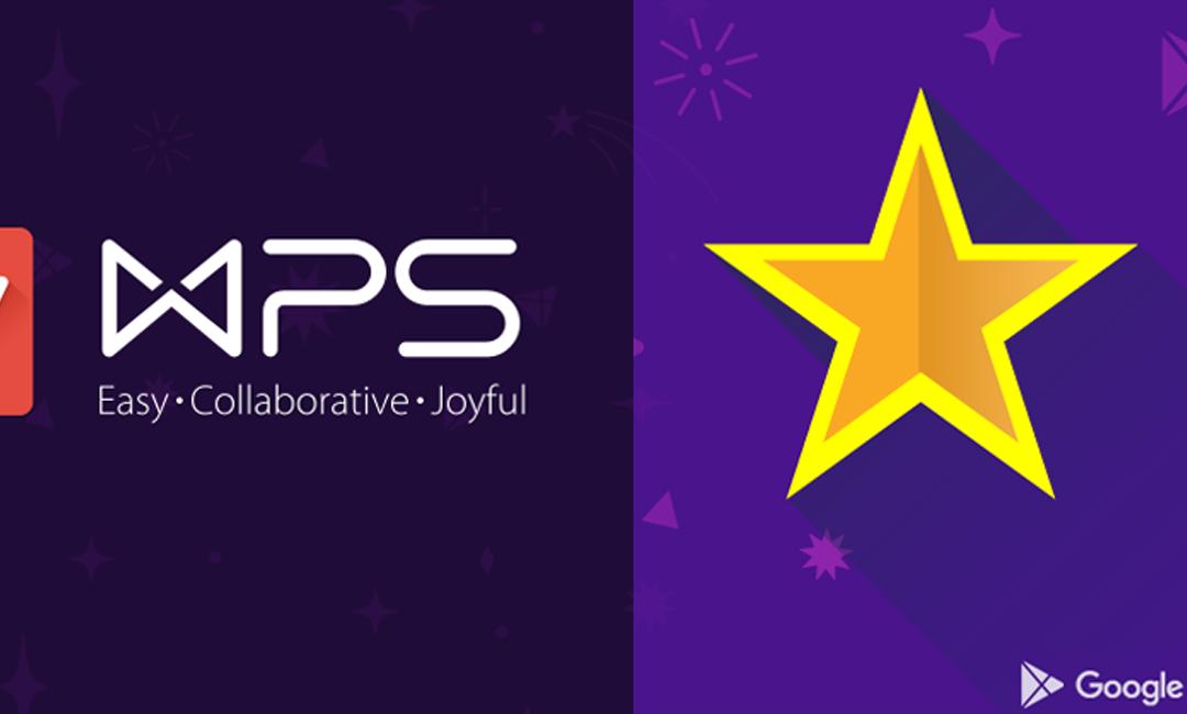 """WPS Office là """"Ứng dụng tốt nhất năm 2015"""" trên Google Play"""
