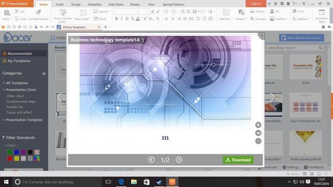WPS Presentation – Phần mềm thuyết trình hấp dẫn thay thế PowerPoint